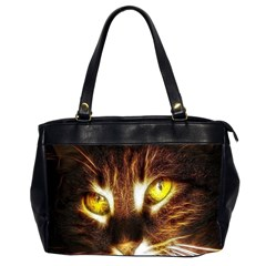 Cat Face Office Handbags (2 Sides)