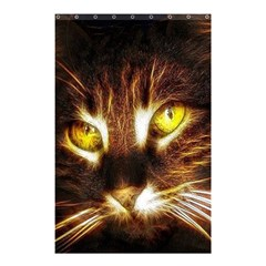 Cat Face Shower Curtain 48  X 72  (small)