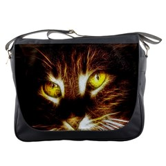 Cat Face Messenger Bags
