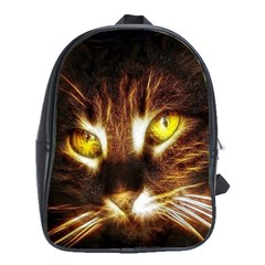 Cat Face School Bags (xl)