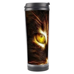 Cat Face Travel Tumbler