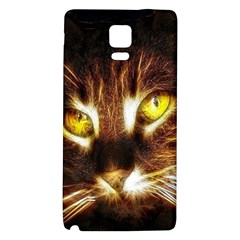 Cat Face Galaxy Note 4 Back Case