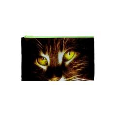 Cat Face Cosmetic Bag (xs)