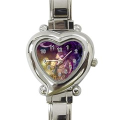 Cartoons Video Games Multicolor Heart Italian Charm Watch by BangZart