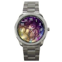 Cartoons Video Games Multicolor Sport Metal Watch