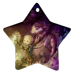 Cartoons Video Games Multicolor Star Ornament (two Sides) by BangZart
