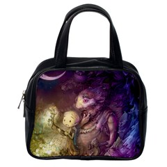 Cartoons Video Games Multicolor Classic Handbags (one Side) by BangZart