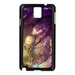 Cartoons Video Games Multicolor Samsung Galaxy Note 3 N9005 Case (black)