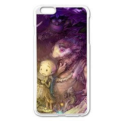 Cartoons Video Games Multicolor Apple Iphone 6 Plus/6s Plus Enamel White Case by BangZart