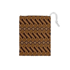 Batik The Traditional Fabric Drawstring Pouches (small)