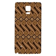 Batik The Traditional Fabric Galaxy Note 4 Back Case