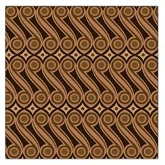 Batik The Traditional Fabric Large Satin Scarf (square)