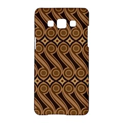 Batik The Traditional Fabric Samsung Galaxy A5 Hardshell Case  by BangZart