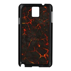 Volcanic Textures Samsung Galaxy Note 3 N9005 Case (black)