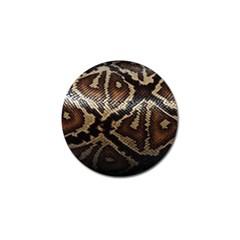 Snake Skin Olay Golf Ball Marker (4 Pack)