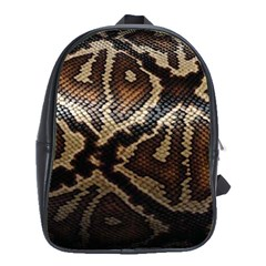 Snake Skin Olay School Bags(large)  by BangZart