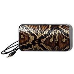 Snake Skin Olay Portable Speaker (black)