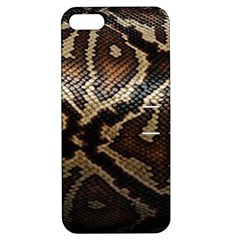 Snake Skin Olay Apple Iphone 5 Hardshell Case With Stand