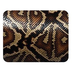 Snake Skin Olay Double Sided Flano Blanket (large)