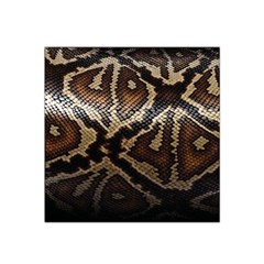 Snake Skin Olay Satin Bandana Scarf