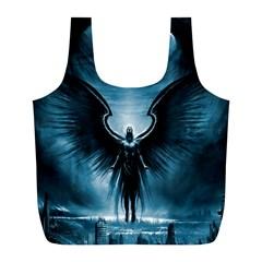 Rising Angel Fantasy Full Print Recycle Bags (l)