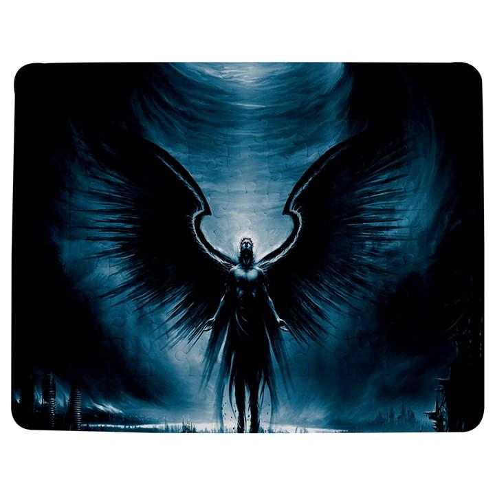 Rising Angel Fantasy Jigsaw Puzzle Photo Stand (Rectangular)