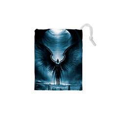 Rising Angel Fantasy Drawstring Pouches (xs)