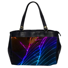 Cracked Out Broken Glass Office Handbags (2 Sides)