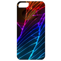 Cracked Out Broken Glass Apple Iphone 5 Classic Hardshell Case