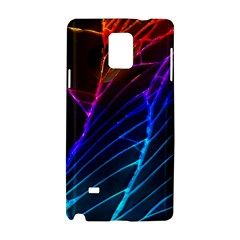 Cracked Out Broken Glass Samsung Galaxy Note 4 Hardshell Case by BangZart