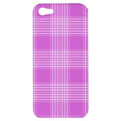 Seamless Tartan Pattern Apple Iphone 5 Hardshell Case by BangZart