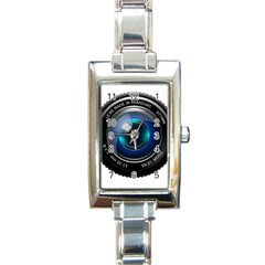 Camera Lens Prime Photography Rectangle Italian Charm Watch by BangZart