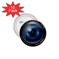 Camera Lens Prime Photography 1 75  Buttons (10 Pack)