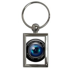 Camera Lens Prime Photography Key Chains (rectangle)