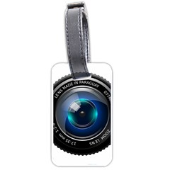 Camera Lens Prime Photography Luggage Tags (two Sides) by BangZart