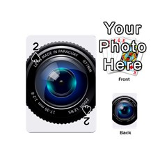 Camera Lens Prime Photography Playing Cards 54 (mini)  by BangZart