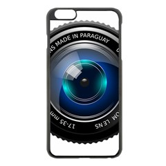Camera Lens Prime Photography Apple Iphone 6 Plus/6s Plus Black Enamel Case by BangZart