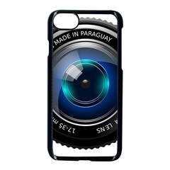 Camera Lens Prime Photography Apple Iphone 7 Seamless Case (black)