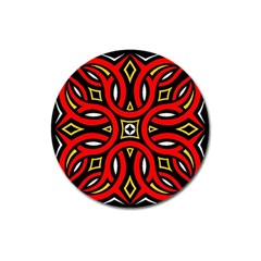 Traditional Art Pattern Magnet 3  (round) by BangZart