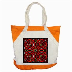 Traditional Art Pattern Accent Tote Bag by BangZart
