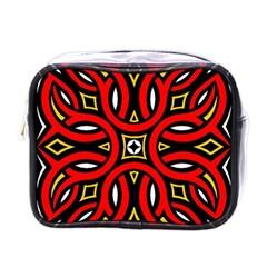Traditional Art Pattern Mini Toiletries Bags
