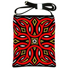 Traditional Art Pattern Shoulder Sling Bags