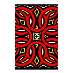 Traditional Art Pattern Shower Curtain 48  X 72  (small)