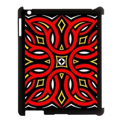 Traditional Art Pattern Apple Ipad 3/4 Case (black) by BangZart