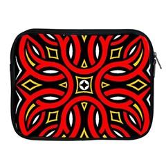 Traditional Art Pattern Apple Ipad 2/3/4 Zipper Cases