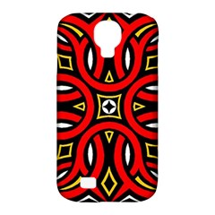 Traditional Art Pattern Samsung Galaxy S4 Classic Hardshell Case (pc+silicone)