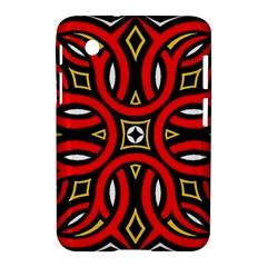 Traditional Art Pattern Samsung Galaxy Tab 2 (7 ) P3100 Hardshell Case  by BangZart