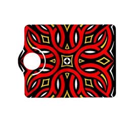 Traditional Art Pattern Kindle Fire Hd (2013) Flip 360 Case by BangZart