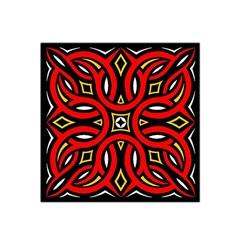 Traditional Art Pattern Satin Bandana Scarf