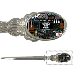 Book Quote Collage Letter Openers by BangZart